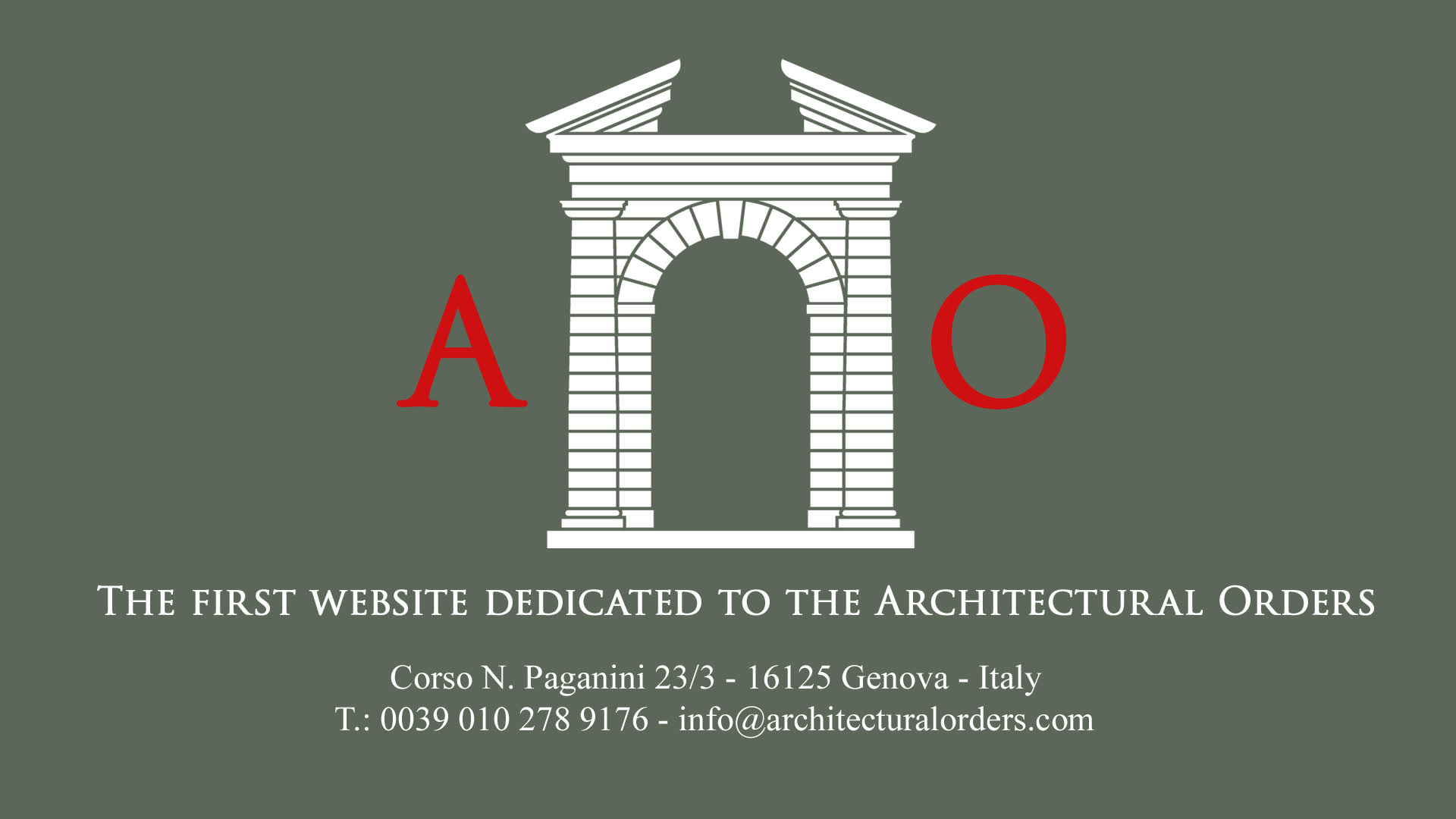 Architectural Orders